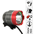 5000Lm XM-L T6 LED Head Front Bicycle Bike Headlamp Flashlight Lamp Rear light