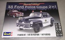 Revell '48 Ford Police Coupe 2 'n 1 1/25 model car kit new 4318