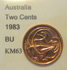 1983 Australia 2c Two Cent UNCIRCULATED FROM MINT SET