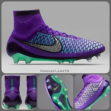 Sz 8 Nike Magista Obra FG Ankle Sock Football Boots Firm Ground Made In Italy