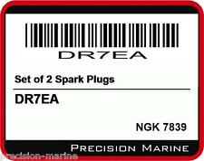 DR7EA Set of 2 Spark Plugs, NGK 7839