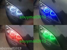 RGB For MAZDA 3 Super Bright LED SMD Angel Eyes DRL Flash Strobe Demon Headlight