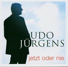 """UDO JÜRGENS """"JETZT ODER NIE"""" CD NEUWARE!!!!!!!!!!!!!!!!"""