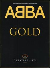 ABBA Gold Greatest Hits Music Book Piano PVG MAMMA MIA