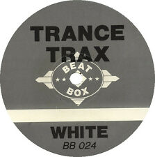 Trance Trax – White *** Oldskool - Vinyl - Hardcore - Jungle - Rave ***