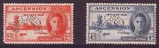 ASCENSION ISL - SG48-49 MNH 1946 VICTORY SPECIMEN - CV £450.00