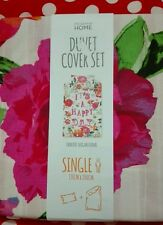Primark its a happy day duvet cover set bnwt single