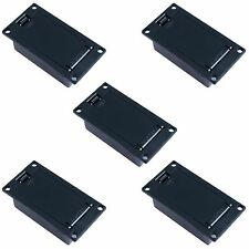 5x PP3 9V Panel Mount Battery Holder Box Case