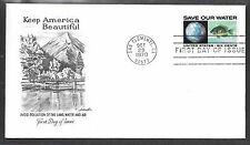 U.S. # 1412 ANTI-POLUTION  (Water) FDC