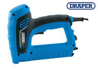 DRAPER Electric Mains Stapler Staple & Brad Nail Fixing Tacker Gun 240v 83658