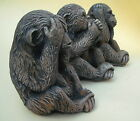3 Wise Monkeys - GARDEN ORNAMENTS Exclusive 3-tone hand finish