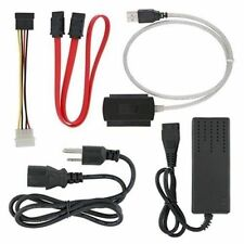 NEW SATA/IDE to USB 2.0 Adapter With Power Supply Supports 2.5-Inch, 3.5-Inch,