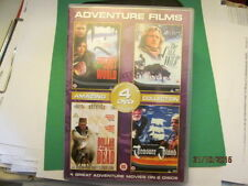 4 DVD ADVENTURE MOVIES ON 2 DISCS OF LOST WORLD - CALL OF  GOOD USED CONDITION