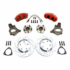"1964-1972 CHEVELLE 1967-1969 CAMARO C5 Corvette 13"" Disc Brake Kit Tall Spindles"