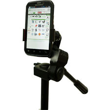 Apple iphone 4s 5s 6 Google Nexus 4 5 Video Camera Tripod Monopod Adapter Mount