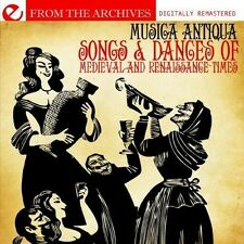 Songs & Dances Of Medieval & Renaissance Times-Fro - Musica (2013, CD NEUF) CD-R
