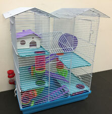 NEW Large Twin Towner Hamster Habitat Rodent Gerbil Mouse Mice Rats Cage 473