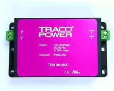 Modo de conmutador 33105C TPM TRACO potencia fuente de alimentación (SMP) 100-240VAC a 5V DC a 6A