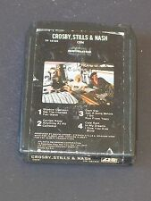 CROSBY STILLS NASH Vintage Classic Rock 8 Track Tape CSN