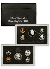 1996 United States US Mint 5pc Silver Proof Set SKU1457