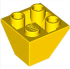 LEGO Roof Tile Corn. Invert.2x2/45°(3676)_ Bright Yellow _4264338(Lot of 10)