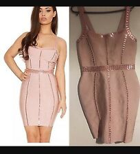Celeb Boutique Pink Sequin Dress House Of Cb