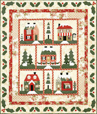 "NEW BLOCK OF THE MONTH QUILT PATTERNS ~ COMPLETE ~ HOLLY LANE ~ 63""x73"" ~"