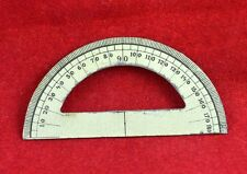 GERMAN WWII WEHRMACHT NCO SMALL POCKET ARTILLERY RULER PROTRACTOR RARE WAR RELIC