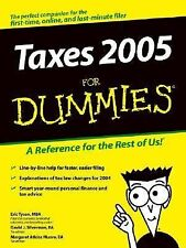 Eric Tyson - Taxes For Dummies 05 (2004) - Used - Trade Paper (Paperback)