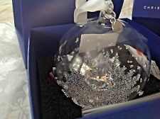 Swarovski Crystal 2013 1st ANNUAL EDITION CHRISTMAS BALL ORNAMENT (RETIRED)