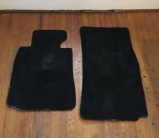 BMW E39 528i 540i Stock Floor Mat Velour Mats Set Anthracite Black 82111469759