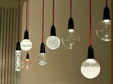 NUD Collection Ceiling LED Light Pendant Textile Fabric Cable/Cord Grey