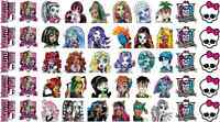 50 MONSTER HIGH NAIL ART DECALS STICKERS PARTY FAVORS SKULL CLEO CLAWDEEN