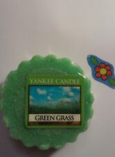 YANKEE CANDLE GREEN GRASS  TART AWESOME COMBINED SHIPPING HUNDREDS LISTED