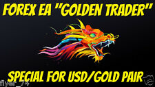 """Forex EA """"Golden Trader"""" Safe and profitable Accurate enter points! For USD/GOLD"""