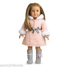 AMERICAN GIRL PRETTY PINK COAT SET NIB RETIRED LANIE MIA SAIGE DOLL NOT INCLUDED