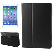 Smart New Apple iPad Air 5 2013 Leather Case Schutz Hülle Tasche Cover Schwarz