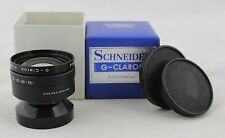 vintage lens Schneider Kreuznach G - Claron 9/270 Normal & caps & makers box