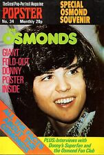 The Osmonds Popster Magazine No. 34   Donny Osmond