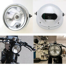 Retro Motorcycle Headlight Headlamp High Low Beam Cafe Racer for Suzuki GN 125