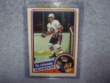 Pat LaFontaine RC 1984-85 OPC O-Pee-Chee Card #129 NY Islanders NICE! VHTF