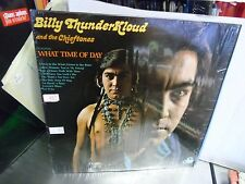 Billy Thunderkloud What Time of Day LP 1975 20th Century Records VG+ IN Shrink