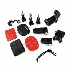 Afferrare Sacco di Mounts KIT PER GoPro Hero 2 3 3 + 4 Go Pro HD accessori per fotocamera