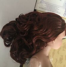 Doll WIG ~ Brrooties ~ long chestnut hair - Tonner Ellowyne Wilde - beautiful