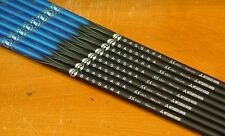 Mitsubishi Rayon Bassara E 55 Lite A Flex Senior Graphite Iron Shafts SET OF 8