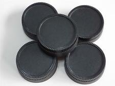 NIKON FIT REAR LENS CAP PACK OF 5 COVER FOR ALL NIKON FILM OR DIGITAL SLR LENSES