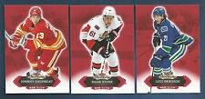 16/17 SHOWCASE FLAMES JOHNNY GAUDREAU RED GLOW PARALLEL CARD #34