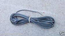 30' Gray Fit All Upright Vacuum Cleaner Power Cord Eureka Bissell Shark Dyson