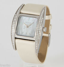 RELOJ VENDOUX MUJER ACERO SWAROVSKI LS14315 WOMENS NEW STEEL LEATHER WATCH UHR