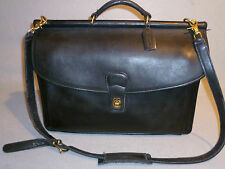 VINTAGE COACH Computer Cross body Messenger Professional School Travel Bag